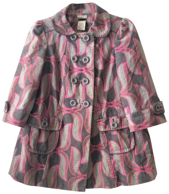 Item - Pink/Gray/Brown Elevenses Jacket Size 2 (XS)