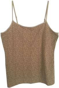 George Leopard Top Tan/Brown