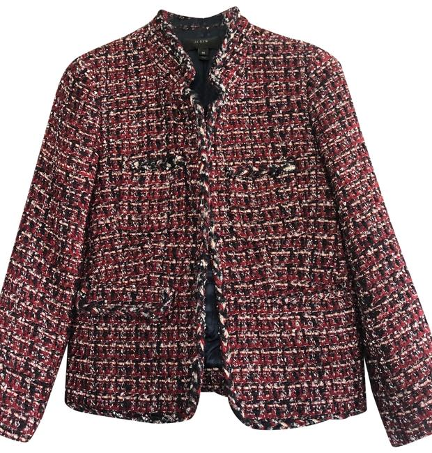 Item - Red/Blue/Silver Tweet Jacket Size 00 (XXS)
