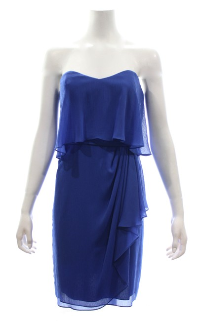 Item - Blue Collection Strapless Mid-length Night Out Dress Size 4 (S)