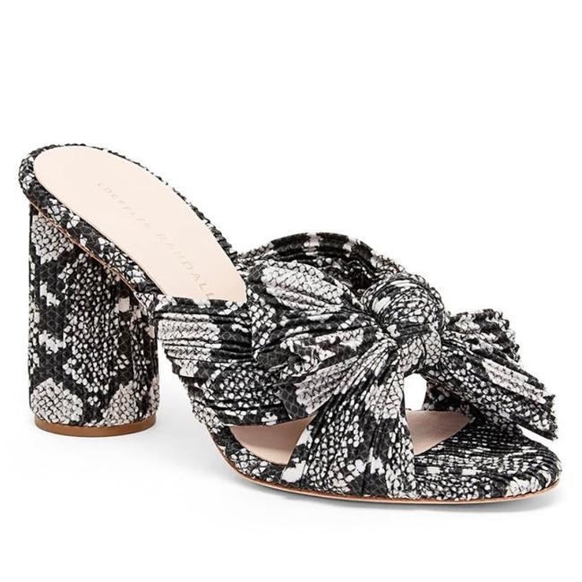 Loeffler Randall Penny Knotted Print Mules/Slides Size US 10 Regular (M, B) Loeffler Randall Penny Knotted Print Mules/Slides Size US 10 Regular (M, B) Image 1