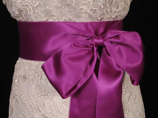 Purple Ribbon Sash