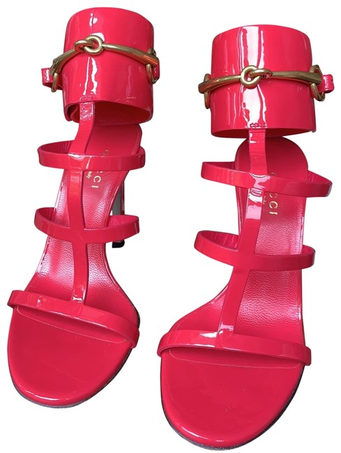 Item - Neon Pink Ursula Gladiator Formal Shoes Size EU 34.5 (Approx. US 4.5) Narrow (Aa, N)