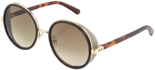 Item - Brown Andie Round Gillter Sunglasses