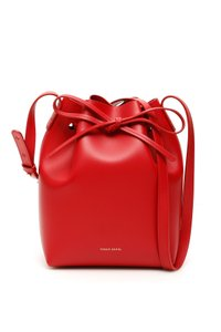 Mansur gavriel Hmb004ca Flamm Tote in Red