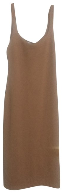 Item - Tan 5644/329/711 Long Casual Maxi Dress Size 12 (L)