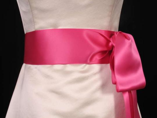 Hot Pink Ribbon Sash Sashes