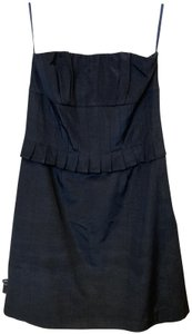 Molly New York Pleated Strapless 90's Mini Corset Dress