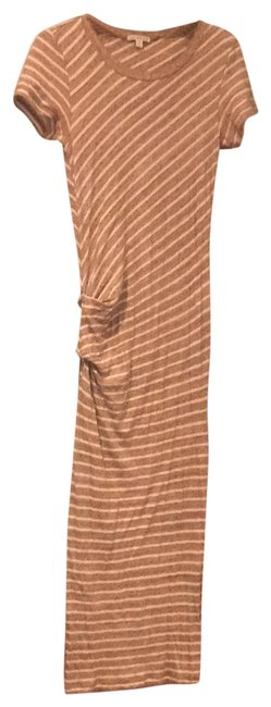 Item - Brown Beige Long Casual Maxi Dress Size 4 (S)