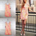 Lilly Pulitzer Pink Yellow Shiloh Resort White Sunkissed Woman New Short Cocktail Dress Size 0 (XS) Lilly Pulitzer Pink Yellow Shiloh Resort White Sunkissed Woman New Short Cocktail Dress Size 0 (XS) Image 7