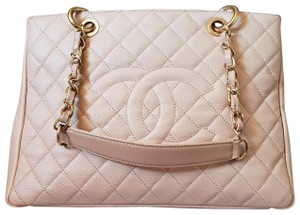 Chanel Shopping Tote Caviar Shoulder Bag