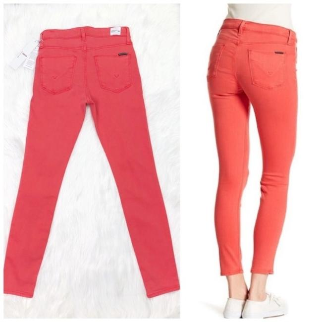 Item - Red Pink Medium Wash Natalie Ankle New Skinny Jeans Size 26 (2, XS)