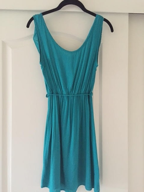 My Story short dress Teal Green on Tradesy