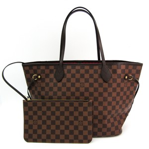 Louis Vuitton Tote in Damier Canvas / Rouge