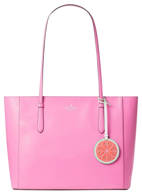 Item - Loli Pink Leather Tote