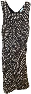 Tracy Reese short dress Brown Printed Micro-mini Mini Ruched on Tradesy