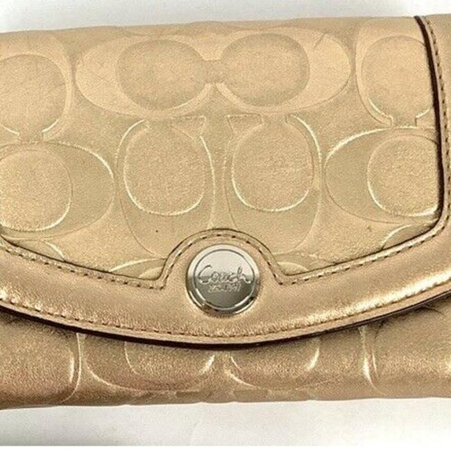 Coach Gold Engraved*** Wallet Coach Gold Engraved*** Wallet Image 2