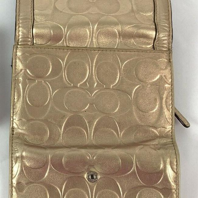 Coach Gold Engraved*** Wallet Coach Gold Engraved*** Wallet Image 3