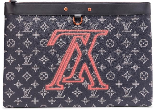 Louis Vuitton Apollo Gm Pouch Multicolor Monogram Canvas Clutch Louis Vuitton Apollo Gm Pouch Multicolor Monogram Canvas Clutch Image 1