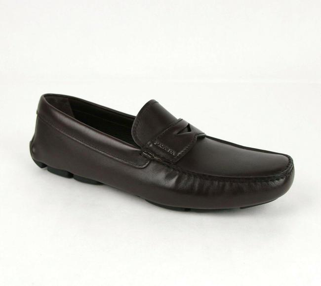 Item - Brown Smooth Leather Loafer Driver Uk 6 / Us 7 2dd151 Shoes