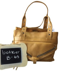 Botkier Satchel in Metallic Gold/yellow