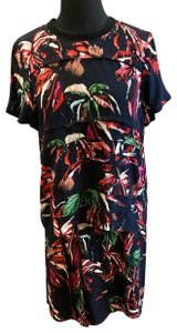 Proenza Schouler short dress Multi Tropical Resort Printed Floral Matching on Tradesy