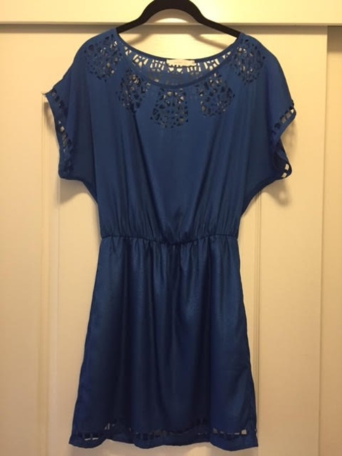 Lush short dress Cobalt on Tradesy