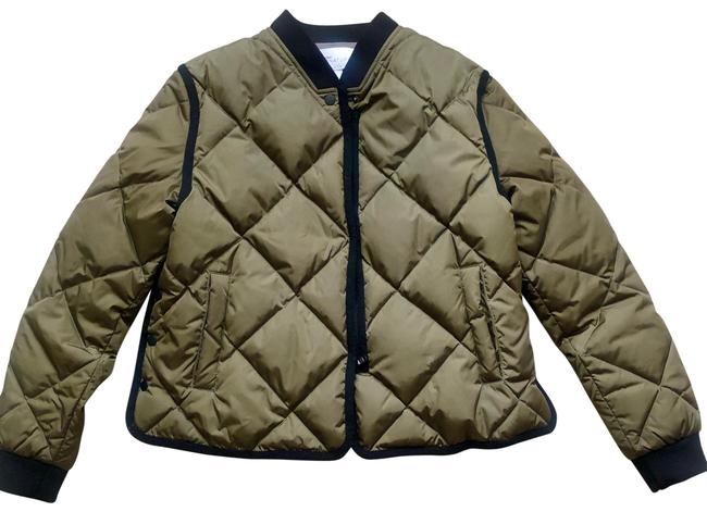 Item - Military Green Quilted Jacket Size 4 (S)