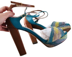 Missoni Turqouise Brown Sandals