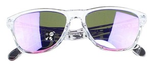 Oakley Polished Clear Frame OJ9006-03 Unisex Frogskins XS Sunglasses