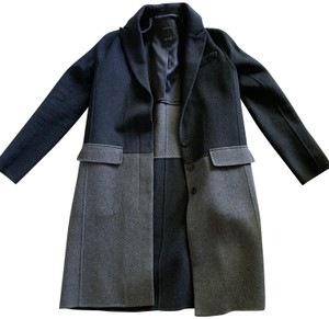 Theory Colorblock Trench Coat
