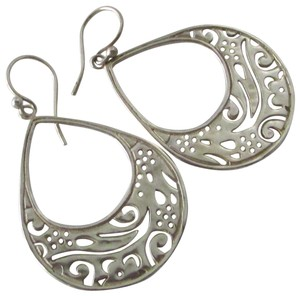 Silpada Sterling Silver Cutout Teardrop Earrings