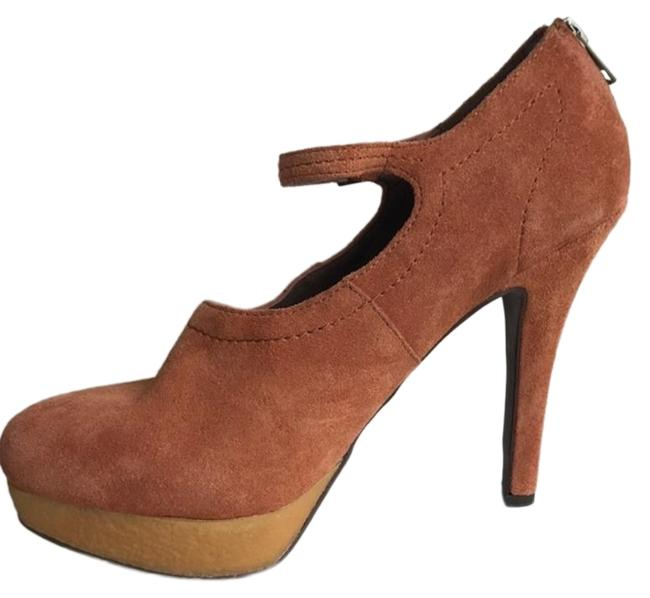Item - Brown Violino Mary Jane Pumps Size US 9 Regular (M, B)
