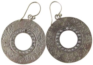 Silpada Sterling Silver Circle Dangle Earrings