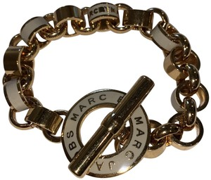 Marc by Marc Jacobs Gold chain link bracelet