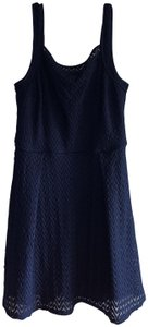 Heidi Weisel short dress Navy Lace Polyester A-line on Tradesy