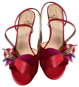 Kate Spade Red, Magenta and gold Formal