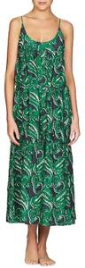 Green Blue Maxi Dress by Stella McCartney Sundress Paisley Cover Up Maxi