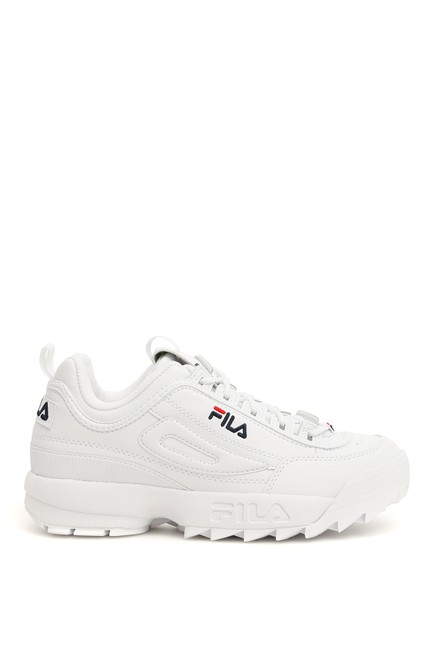 Fila White Disruptor Sneakers Size US 9 Regular (M, B) Fila White Disruptor Sneakers Size US 9 Regular (M, B) Image 1