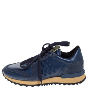 Valentino Leather Blue Athletic