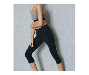 Nike Capri Pants Dri Fit Running Athletic Wear