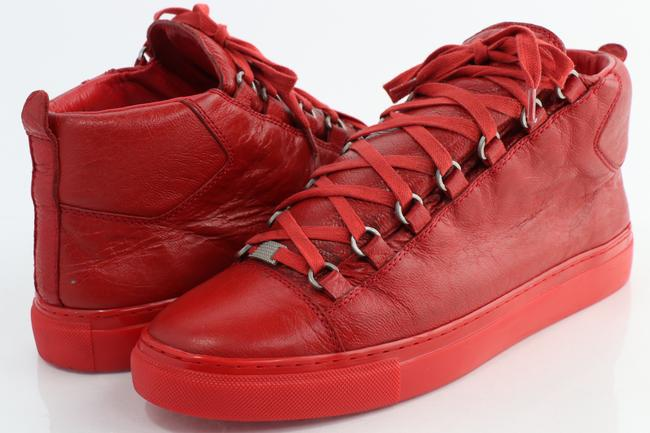 Item - Red High-top Sneakers Shoes