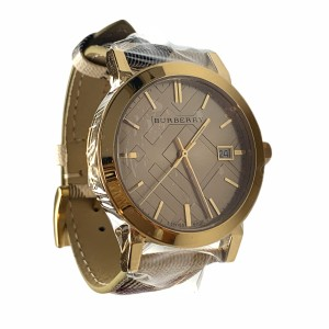 Burberry Burberry Watch BU9026 The City Champagne Dial Haymarket Check Pattern
