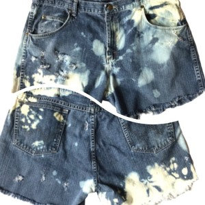 Wrangler Cut Off Shorts Blue