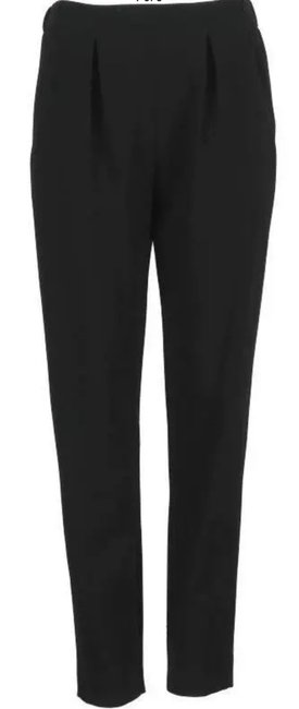 Item - Black New Stretchy Wool Modern Pleated Front Dress 42/8 Pants Size 8 (M, 29, 30)