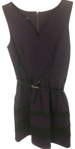 A. Byer short dress Purple Office Career Eggplant on Tradesy