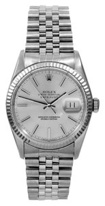 Rolex Rolex Datejust Silver Dial Watch