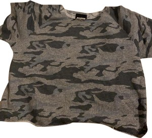 Monrow T Shirt camouflage