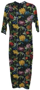 Alice + Olivia Fitted Floral Dress