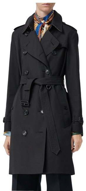 Item - Black Kingston Mid-length Heritage Coat Size 12 (L)